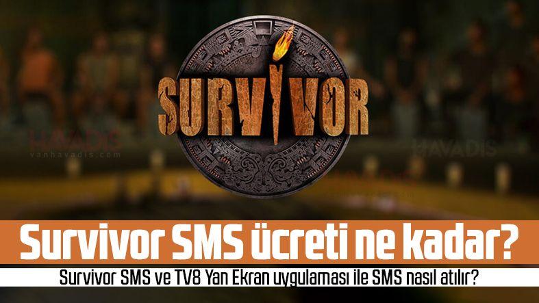 Survivor 2021 SMS ücreti ne kadar? Survivor SMS fiyatları