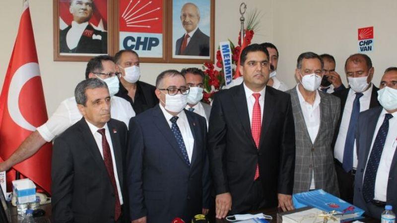 CHP Van İl Başkanı Bedirhanoğlu göreve başladı