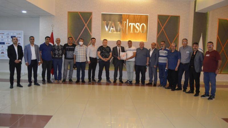 VAN TSO gazetecileri en iyi şekilde ağırladı