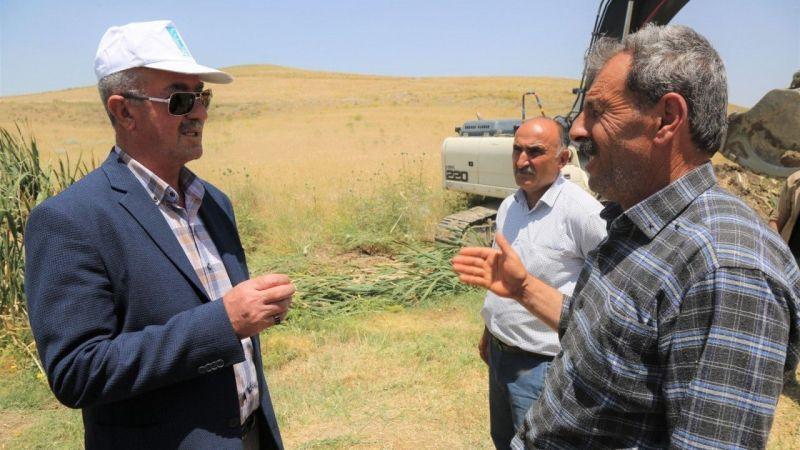 Van Tuşba'da çiftçilere tam destek