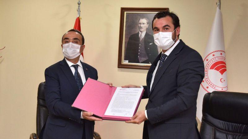 Gaziantep'in su yönetimi için protokol imza töreni