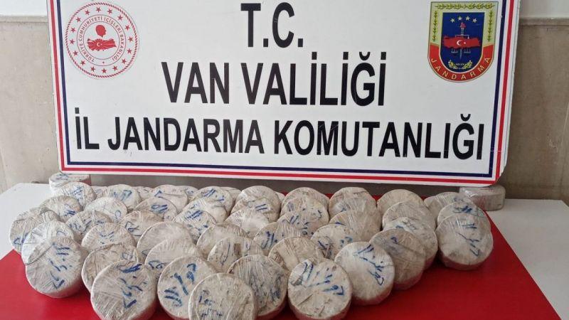Van Çaldıran'da eroin maddesi ele geçirildi