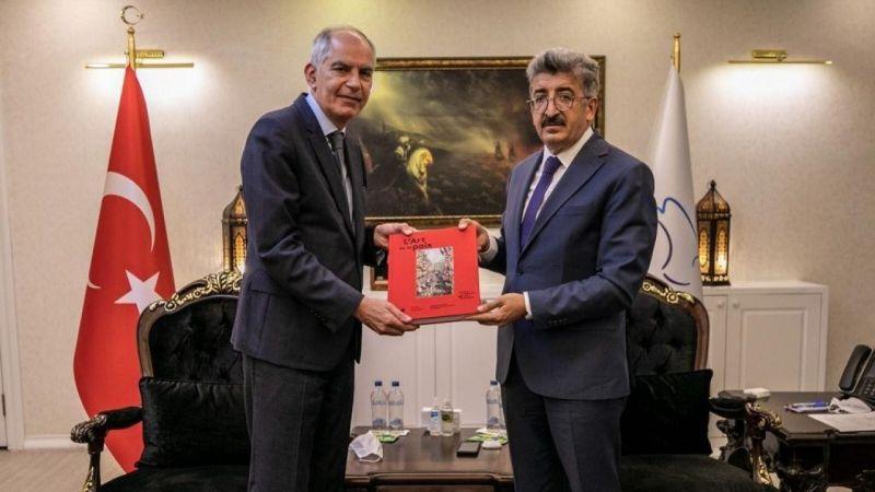 Fransa Büyükelçisi Magro'dan Van Valisi Bilmez'e ziyaret