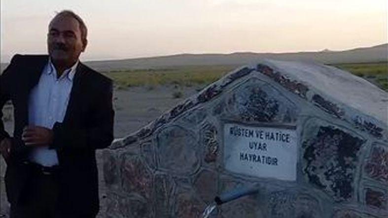 Van Mehmetalan Köy Muhtarı keşfettiği su kaynağını ovaya taşıdı