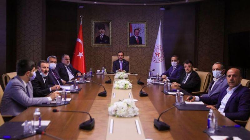 Vanspor'un sorunları Bakan Kasapoğlu'nun gündeminde