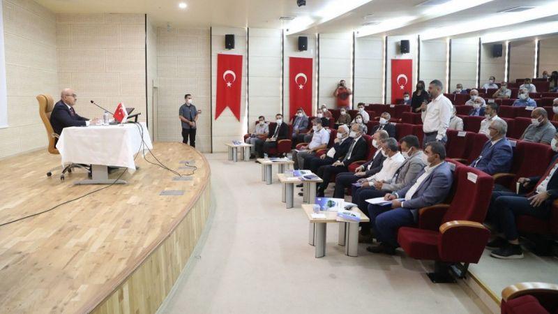 Mardin Valisi Demirtaş bir yıllık faaliyetlerini anlattı