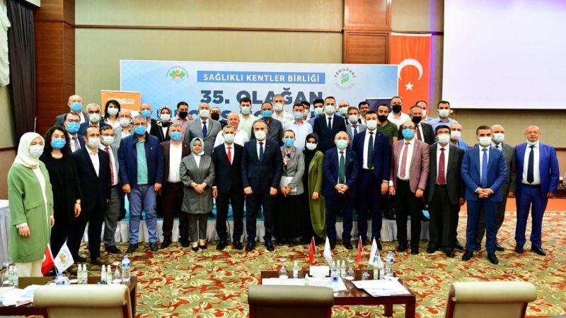 Türkiye Sağlıklı Kentler Birliği Başkanı Aktaş güven tazeledi