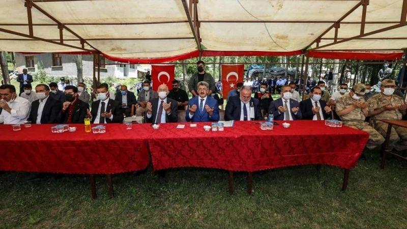 Van Erciş'te husumetli 4 aile barıştırıldı