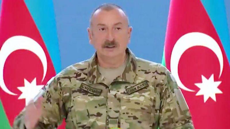 Aliyev: Ermenistan, barış anlaşması hazırlığı yapılmalıdır