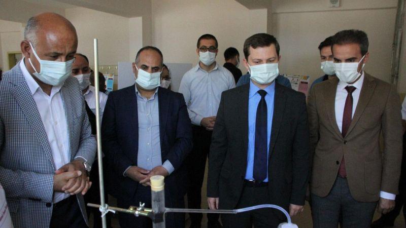 Muş Malazgirt'te TÜBİTAK Bilim Fuarı Sergisi açıldı