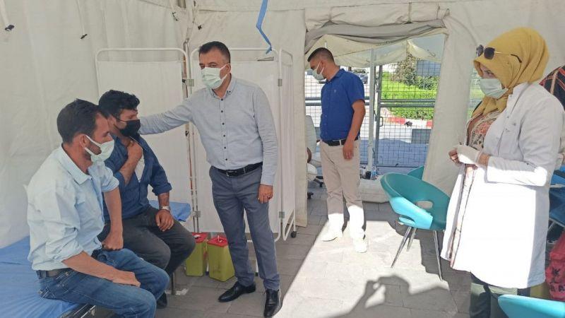 Van İl Sağlık Müdürü Sünnetçioğlu'ndan VANOTED'e teşekkür