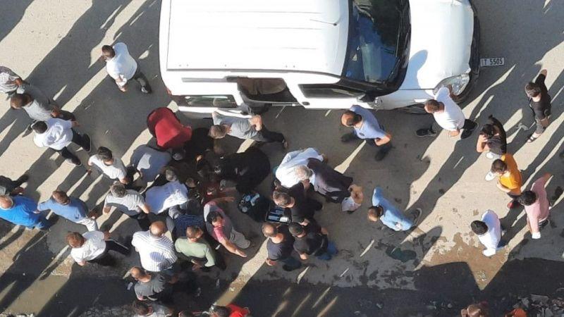 Tatvan'da aracın çocuğa çarpma anı kameraya yansıdı