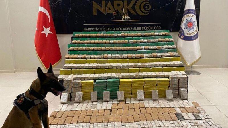Van'da 564 paket halinde 265 kilo eroin ele geçirildi