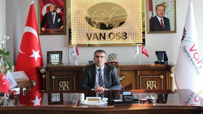 Van OSB Başkanı Aslan'dan 24 Temmuz Basın Bayramı mesajı