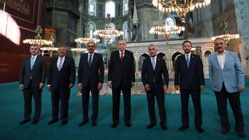 Cumhurbaşkanı Erdoğan'dan Ayasofya mesajı