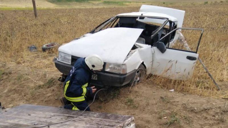 Van Saray'da trafik kazası: 1 yaralı