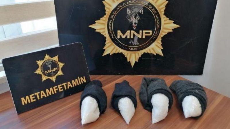 Muş haber, Muş'ta uyuşturucu operasyonu: 1 tutuklama