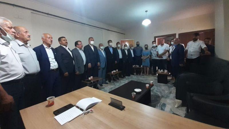 CHP heyetinden Kadim Aşiretler Federasyonuna ziyaret