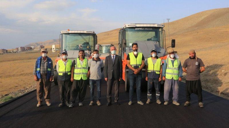 Tuşba'da bölge turizmine büyük katkı sağlayacak modern yollar yapılıyor