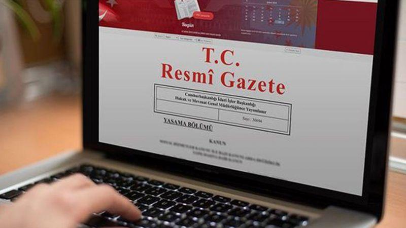 Hakim, savcı ve mahkeme üyelerinin terfileri Resmi Gazete'de yayımlandı