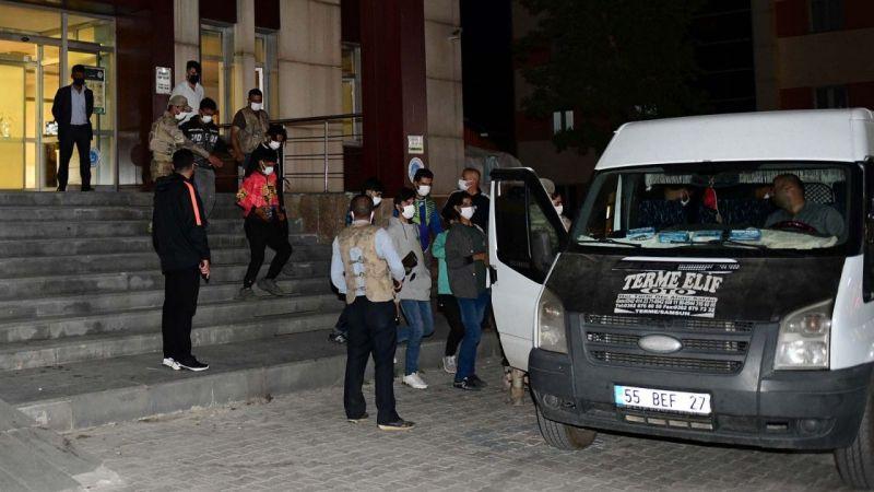 Van Çatak'ta 31 düzensiz göçmen yakalandı