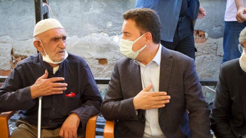 Ali Babacan'dan Konya'da katledilen Dedeoğlu ailesine ziyaret