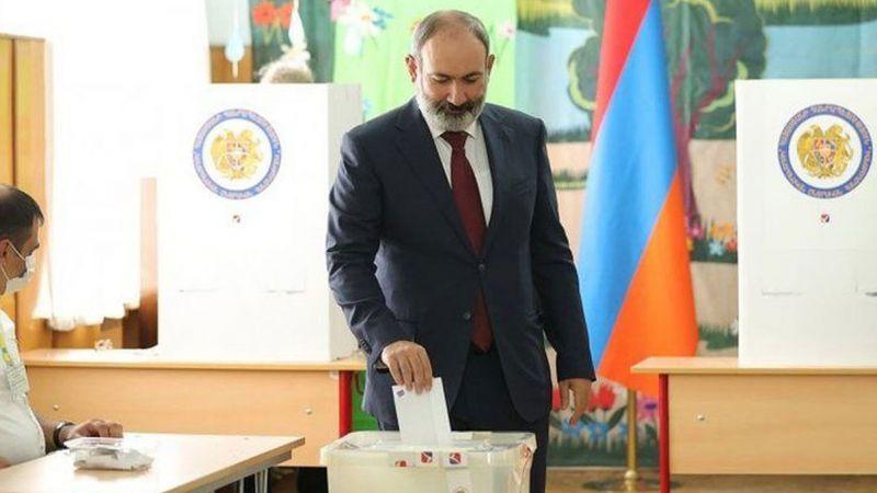 Paşinyan yeniden Ermenistan Başbakanı oldu