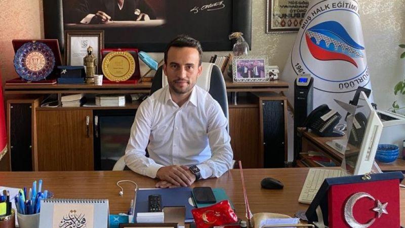 Muş Halk Eğitim Merkezi Müdürlüğüne Akyüz atandı