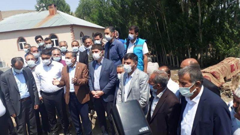 Van Milletvekili Arvas'tan sel ve su taşkınları uyarısı