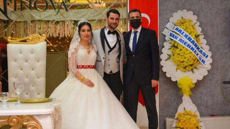 Şehit polis Güntin'in oğlu dünya evine girdi