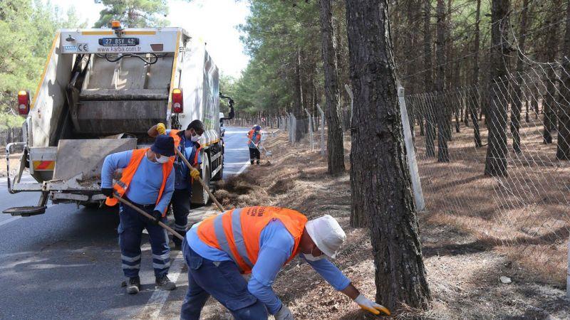 Gaziantep Haber: Gaziantep ormanlık alanlarda tedbiri arttırdı