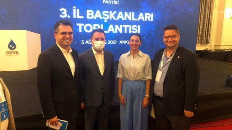 DEVA Partisi il başkanları Ankara'da buluştu