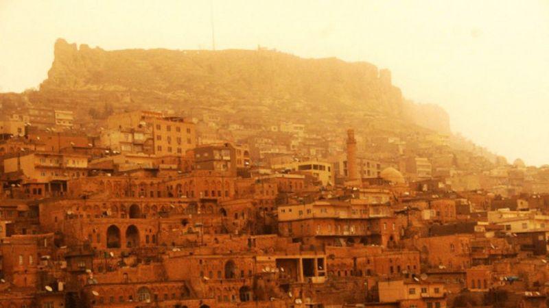 Mardin Haber: Mardin'de toz fırtınası kabusu