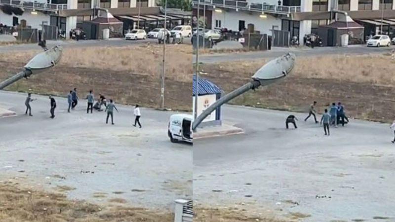 Adana'da 9 kişinin bıçaklı ve sopalı kavgası!