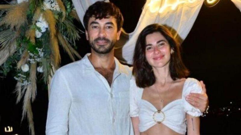 Nesrin Cavadzade ile Gökhan Alkan nişanlandı