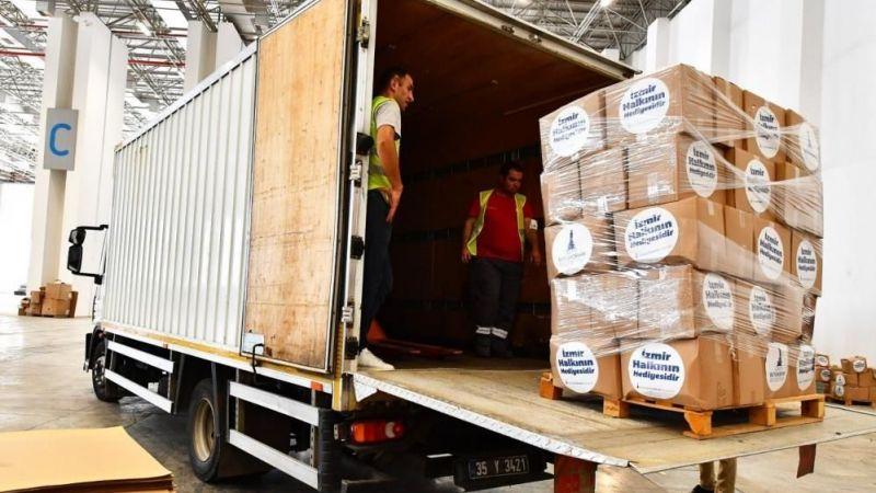 İzmir'den Van'a sel desteği