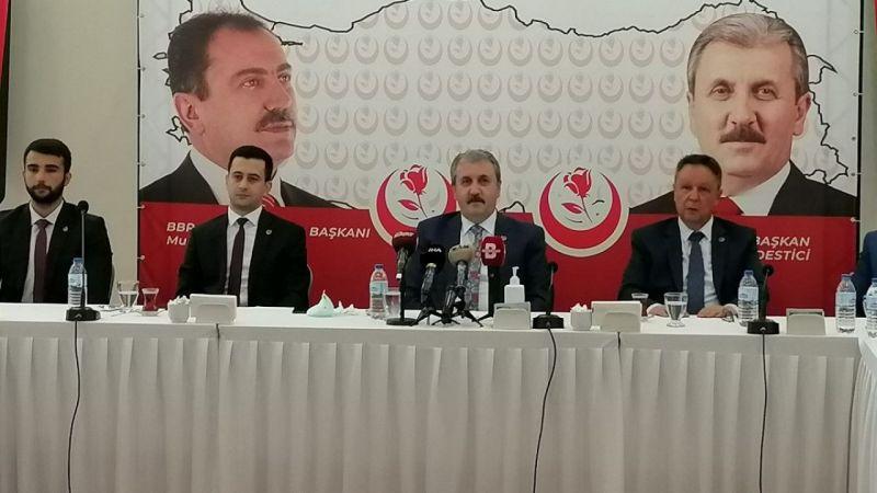 Mustafa Destici'den idam açıklaması