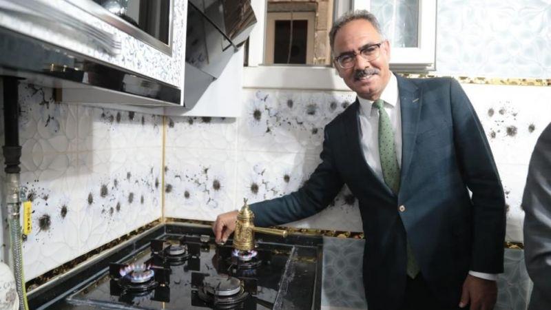 Eyyübiye'de doğalgaz çalışmaları tamamlandı