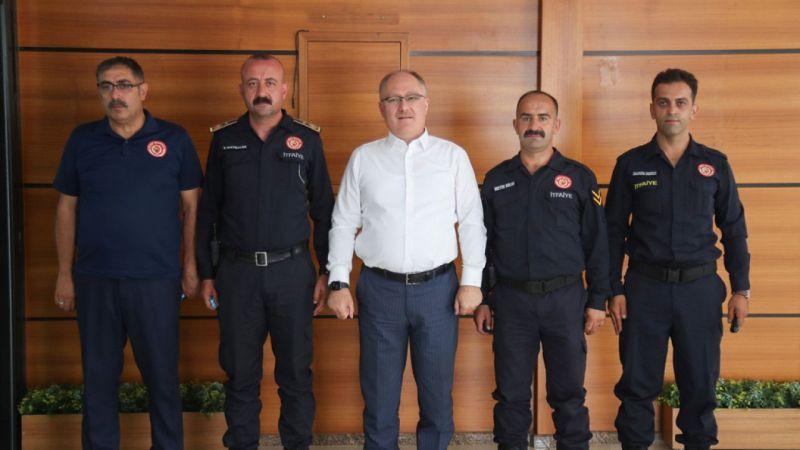 Sivaslı gönüllüler Manavgat'tan döndü
