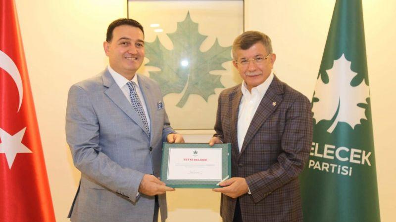 Gelecek Partisi Rize İl Başkanlığına Osman Civelek atandı