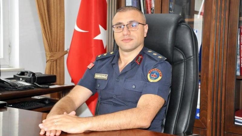 Sorgun İlçe Jandarma Komutanı Ekmekcioğlu görevine başladı