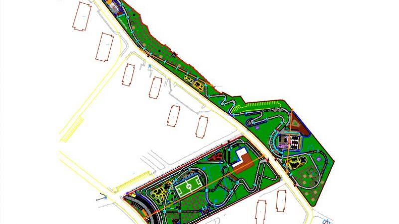 Van Edremit Millet Bahçesi'nin yapımına başlandı