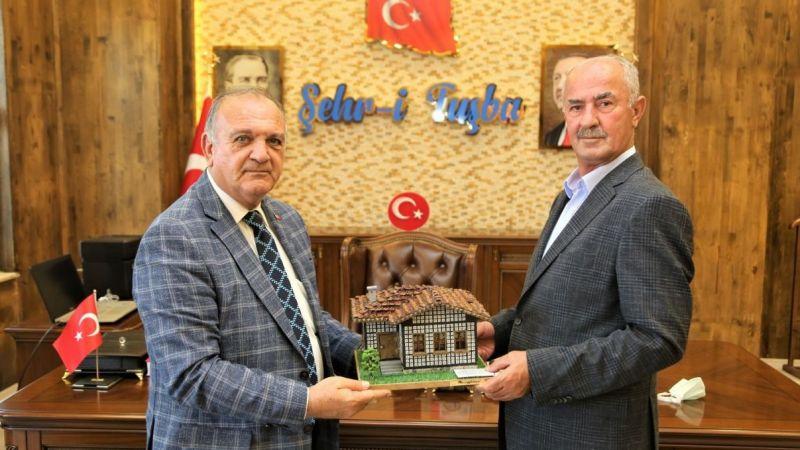 Arhavi Belediye Başkanı Kurdoğlu'ndan Başkan Akman'a ziyaret