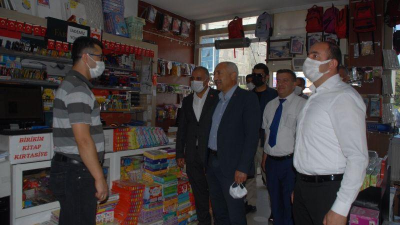 MHP Van İl Başkanı Güngöralp Erciş esnafını ziyaret etti