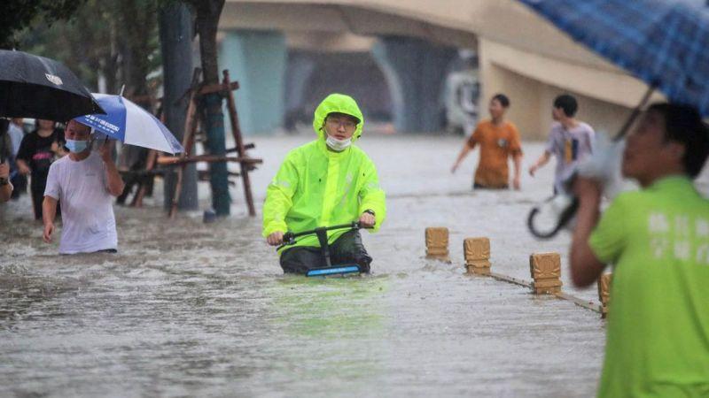 Çin'de sel felaketi: 21 ölü, 4 kayıp