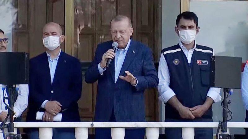 Cumhurbaşkanı Erdoğan: Bu afetleri de birlikte aşacağız