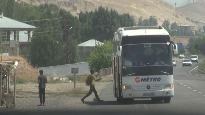 Van'da göçmenleri taşıyan otobüs firmasına soruşturmabaşlatıldı