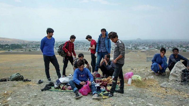 Van'a gelen Afganlar: Çalışmak için geldik