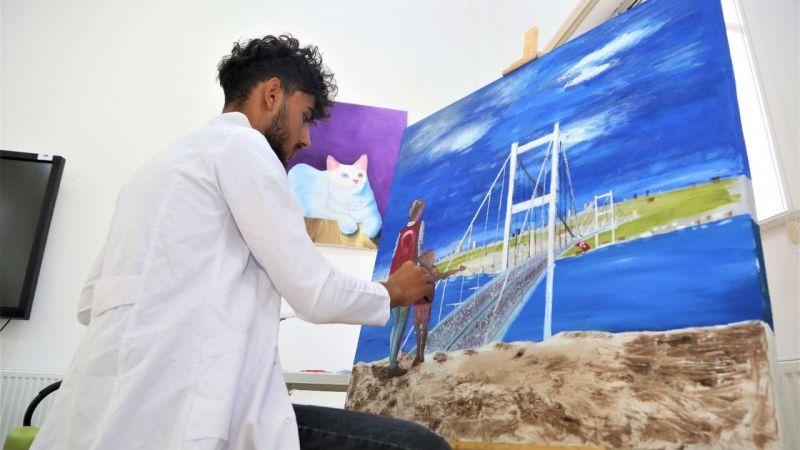 Tuşba Belediyesi çocuk ve gençlere yönelik resim kursu açtı