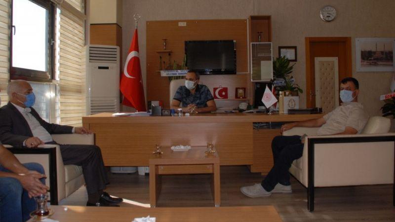 MHP'den Başhekim Yavuzer'e ziyaret
